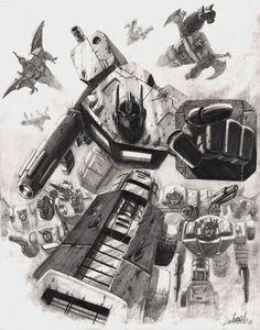 Autobots by ~Livio27 on deviantART