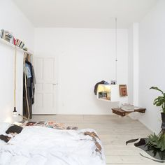 bless shop berlin home openhouse project magazine interview mira schroder andrew trotter fashion 10 Berlin Apartment, Retail Space, Bed Sheets, Interior Inspiration, Showroom, Blessed, Sweet Home, House Design, Interior Design