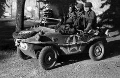 Another captured Schwimmwagen.