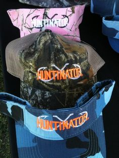 New hats for the outdoor lifestyle at Huntinator.com