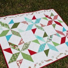 Quilting: Dash Away All Quilt Pattern