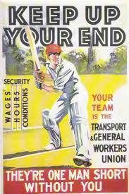 Transport and General Workers Union recruitment poster from 1935.