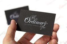 Silkscreen print business cards