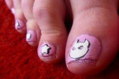 Cute Toe Nail Designs » Nail Designs For You - http://www.naildesignsforyou.com/toe-nail-designs/ #toenails #toenaildesigns #nails #cutenails #cutenaildesigns #nailart #toenailart
