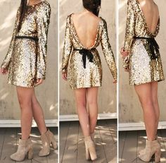 If i ever own a sequin dress, it would be this one <3
