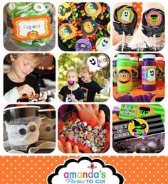 Birthday Halloween Party Printable  Birthday by AmandasPartiesToGo, $19.00