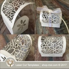 This laser cut gift box is ideal for a wedding or any event. Add this template to your product list or kick start a new range today. Laser Cut Box, Laser Cutting, Wedding Gift Boxes, Wedding Gifts, Paper Box Template, Chocolate Box, Home Gifts, Wedding Designs, Decorative Boxes