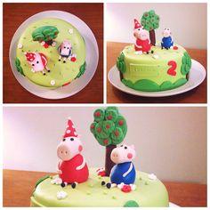 Torta Peppa y George