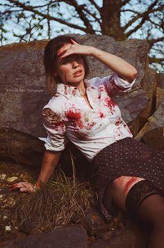 Zombie Apocalpyse Survivor  Kayleigh Ross Photography