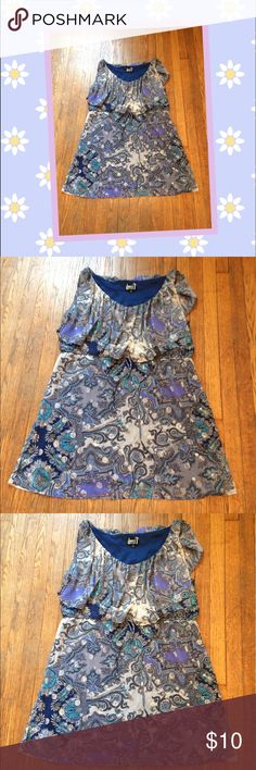 👗Cute Paisley Dress👗 Cute Paisley  Dress by Dress T Sized XL In Great Condition Dress T Dresses
