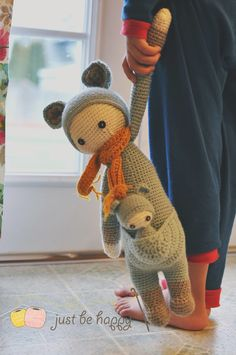 @Just Be Happy Alessandra Hayden shared this terrific recently-made #crochet project. Adorable.