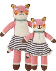 Bla Bla Knit Dolls SUZETTE THE FOX $44 - $180 100% Cotton, Handmade in Peru. SUZETTE is a good baker. She can balance 3 eggs and make a perfectly square crepe. - See more at: http://www.blablakids.com/Online-Shopping/knit-dolls#sthash.wuVvIIwF.dpuf