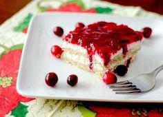 Cranberry Tiramisu Gluten-Free, Diabetic-Friendly)
