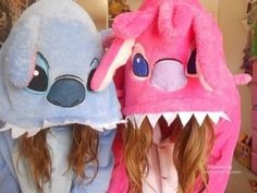Adorable. I really want a stitch onesie, especially if me and my best friend have these.