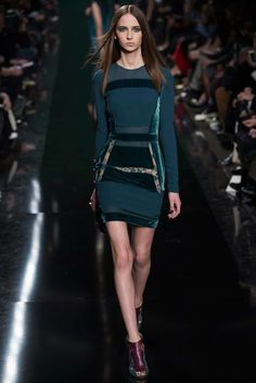 Elie Saab Fall 2014 Ready-to-Wear Fashion Show - Waleska Gorczevski (OUI)