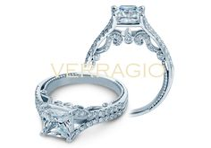 Here is the new Insignia-7063PL with 0.60 carat of diamonds for 1.25 to 2.00 carat Princess cut centers. Also available for 0.50 to 1.25 carat centers: http://www.verragio.com/Verragio-Engagement-Rings/Insignia-Engagement-Rings/INSIGNIA-7063