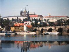 my first trip to Prague long ago