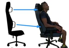 10 Best Gaming Chairs With Back Support The trend of gaming was never an out dated trend, as we know the gaming industry is gaining popularity with the passing time. That passion of gaming helped many people gaining popularity in their region and also all around the globe. This needs too much focus on what [...] Sitting Posture, Bad Posture, Pc Gaming Chair, Posture Support, Turn Your Life Around, Sitting Positions, Ergonomic Office Chair, Life Partners, Working Area
