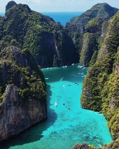 Phi Phi Island, Phuket, Thailand Travel, Asia Travel, Beach Travel, Isla Phi Phi, Beautiful Nature Scenes, Amazing Nature, Beautiful Places To Travel