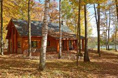 Fall Vacations, Bedroom Loft, Full Bath, Square Feet, Wisconsin, Porch, Deck, Exterior, Cabin