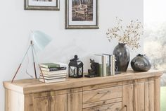 STROMBERG - Obývačková zostava, vyhotovenie: Dub wotan Floating Nightstand, Table, Furniture, Home Decor, Floating Headboard, Decoration Home, Room Decor, Tables, Home Furnishings