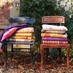 Vintage Kantha Throw- By Caravan