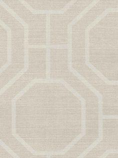 Interior Place | Light Taupe Lattice Modern Wallpaper