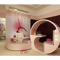 Teen Girl Bedrooms example - A dazzling plus breathtaking variety of teen room decor strategies. For more exciting decor explanation please visit the image today Teenage Girl Bedrooms, Girls Bedroom, Bedroom Decor, Bedroom Ideas, Trendy Bedroom, Dance Bedroom, Cool Teen Bedrooms, Garage Bedroom, Bedroom Rugs