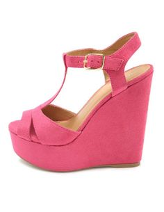 I want this wedge in every color! #wedge #summer #pink