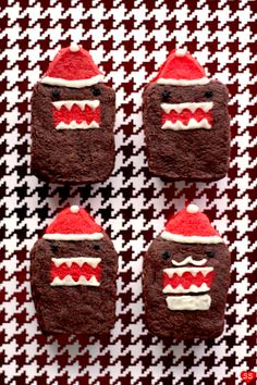 @Nikki Tanaka Saw these Christmas Domo's and thought of you1