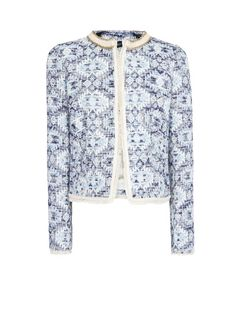 I've seen a lot of these ethnic jackets popping up for spring. I'd like one but maybe with bolder colours.  MANGO - Ethnic fabric jacket