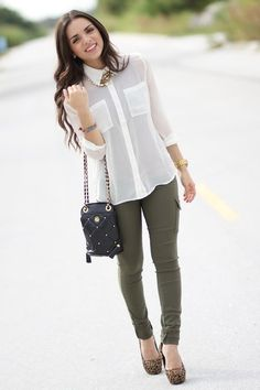 Love the olive green pants and everything else ofcourse | clothes ...