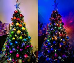ombre christmas tree - Google Search