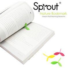 Sproutbookmark(スプラウトブックマーク)/シリコン製の芽のしおり