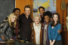 Gillian Jacobs, Donald Glover, Joel McHale, Betty White, Danny Pudi, Yvette Nico...
