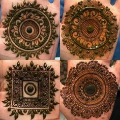 Easy Mehndi Designs, Latest Mehndi Designs, Round Mehndi Design, Legs Mehndi Design, Henna Art Designs, Mehndi Design Pictures, Mehndi Designs For Beginners, Mehndi Designs For Fingers, Beautiful Henna Designs