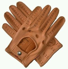 Leather driving gloves h & m