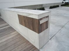 beton I brievenbus I design I www.outdoorliving.be
