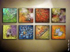 Original Abstract Heavy Textured Painting.Modern by NataSgallery, $600.00 Buy…