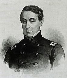 Union Major Robert Anderson, Louisvillian, commander of Fort Sumter at the beginning of the Civil War, 1861