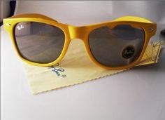 Yellow raybans