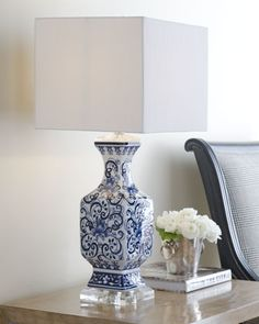 Toile Scenes Lamp at Neiman Marcus: for the Library/Piano room