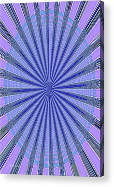 Blue Star Acrylic Print by Tom Janca.  All acrylic prints are professionally printed, packaged, and shipped within 3 - 4 business days and delivered ready-to-hang on your wall. Choose from multiple sizes and mounting options.