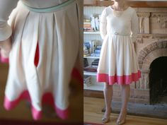 How to make a too short dress longer