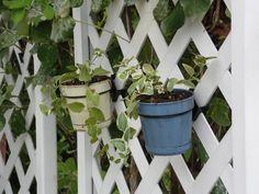 "Brackets work on 1/4"" plastic lattice. Lattice Brackets #lattice bracket, #pot holder http://www.latticebracket.website http://www.potholder.website"