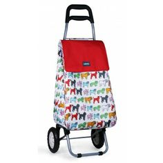 Pug  Shopping Trolley