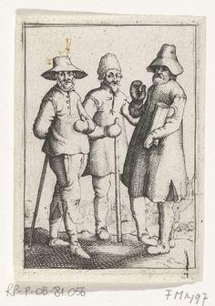 Reinier van Oldenbarnevelt, Adriaan van Dijk en Henricus Slatius, 1623, anoniem, 1623 - 1649