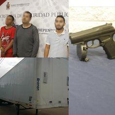 Detienen en Juárez a tres que pistola en mano robaron caja de tráiler para extraer placas de plata que transportaba para maquiladora | El Puntero