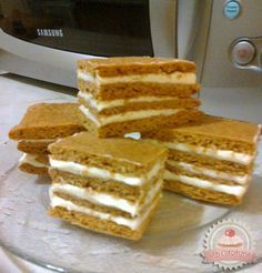 Hungarian Desserts, Hungarian Recipes, Sweet Recipes, Cake Recipes, Dessert Recipes, Slovakian Food, Ital Food, Different Cakes, Sweet Cookies