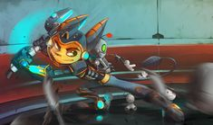 Cry Plays Ratchet and Clank by Mia-san21 on DeviantArt